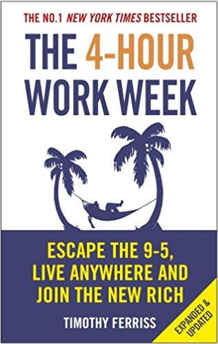 Portada La Semana Laboral de 4 Horas Tim Ferriss