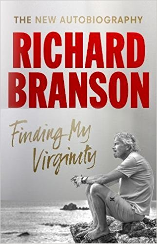 Portada de Finding My Virginity de Richard Branson