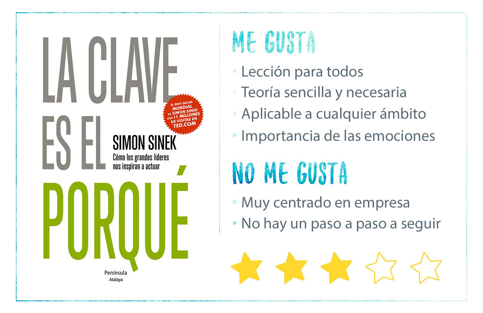 Reseña La Clave es el Porqué de Simon Sinek