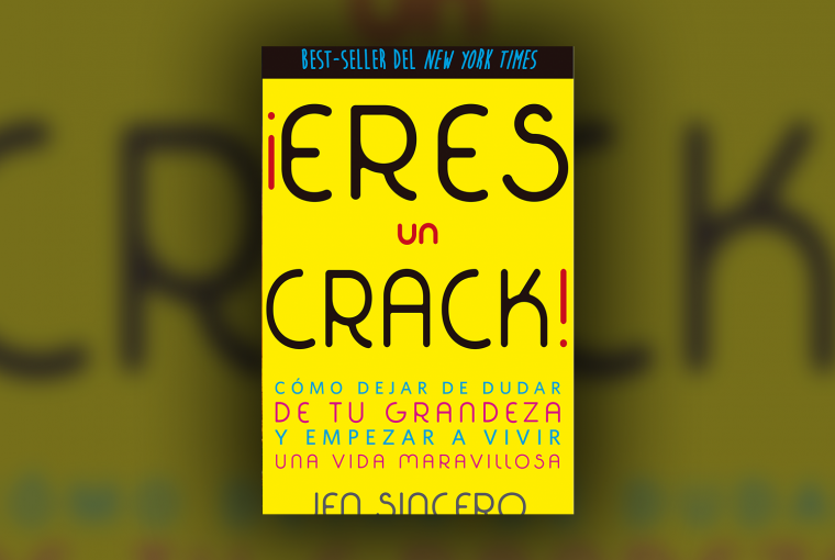 Header Eres un Crack de Jen Sincero