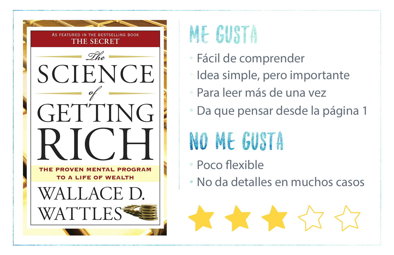 Nota de The Science of Getting Rich de Wallace D Wattles