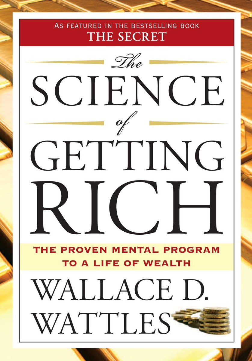 Portada de The Science of Getting Rich de Wallace D Wattles