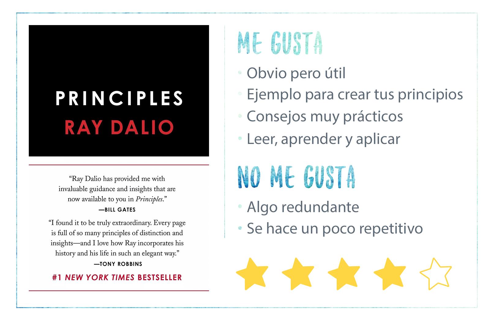 Nota Principios Ray Dalio