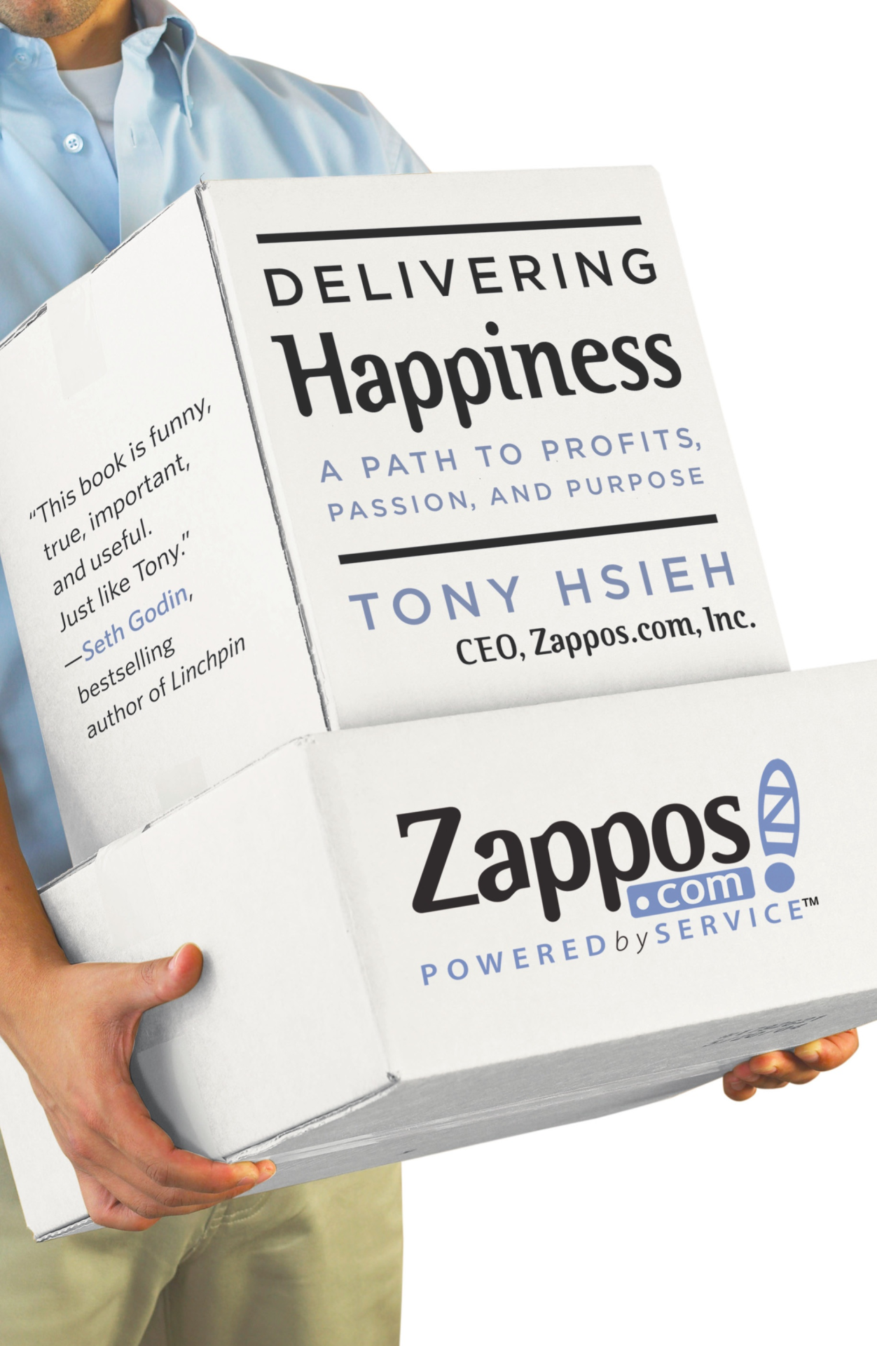 Portada Delivering Happiness de Tony Hsieh