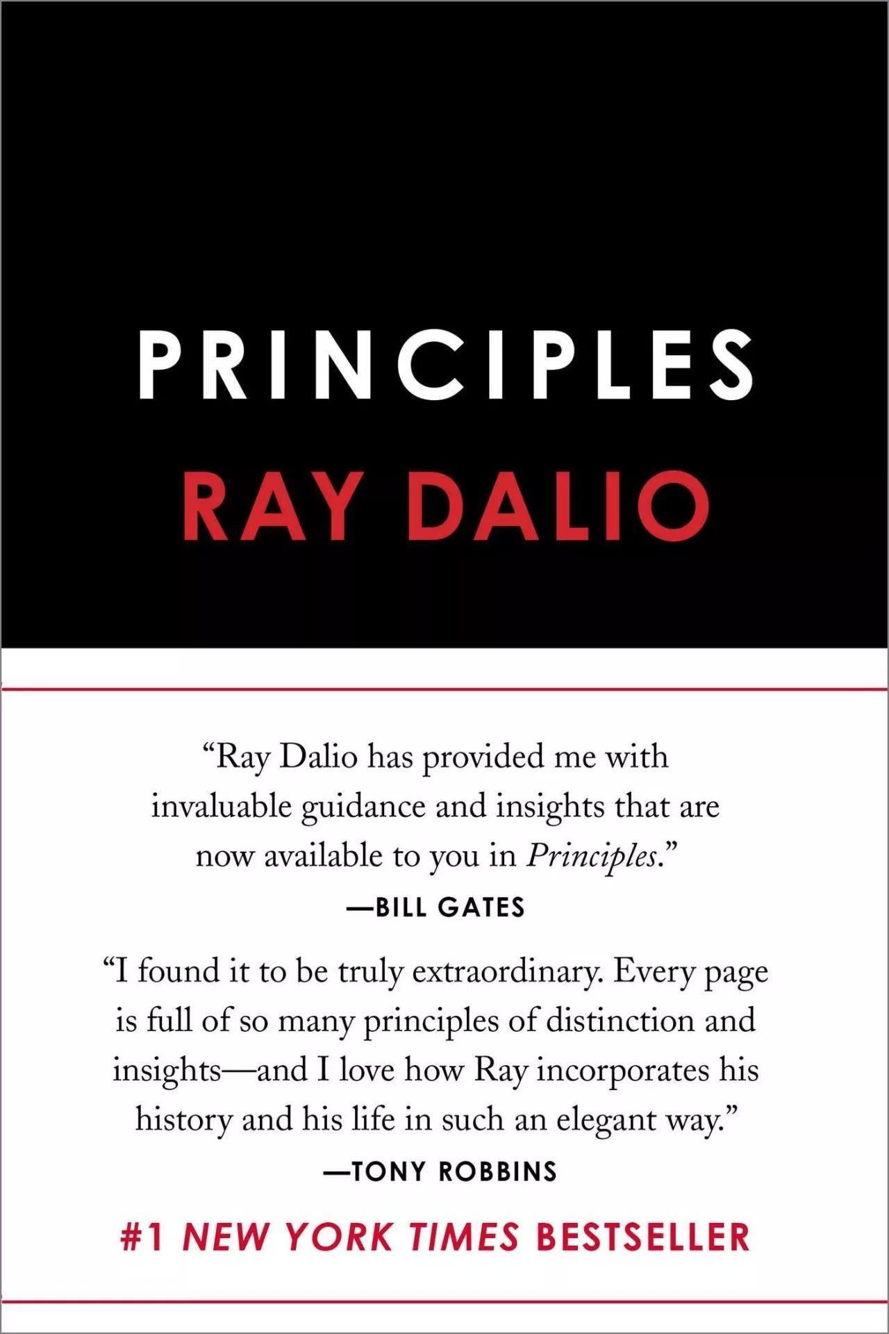 Portada Principios de Ray Dalio