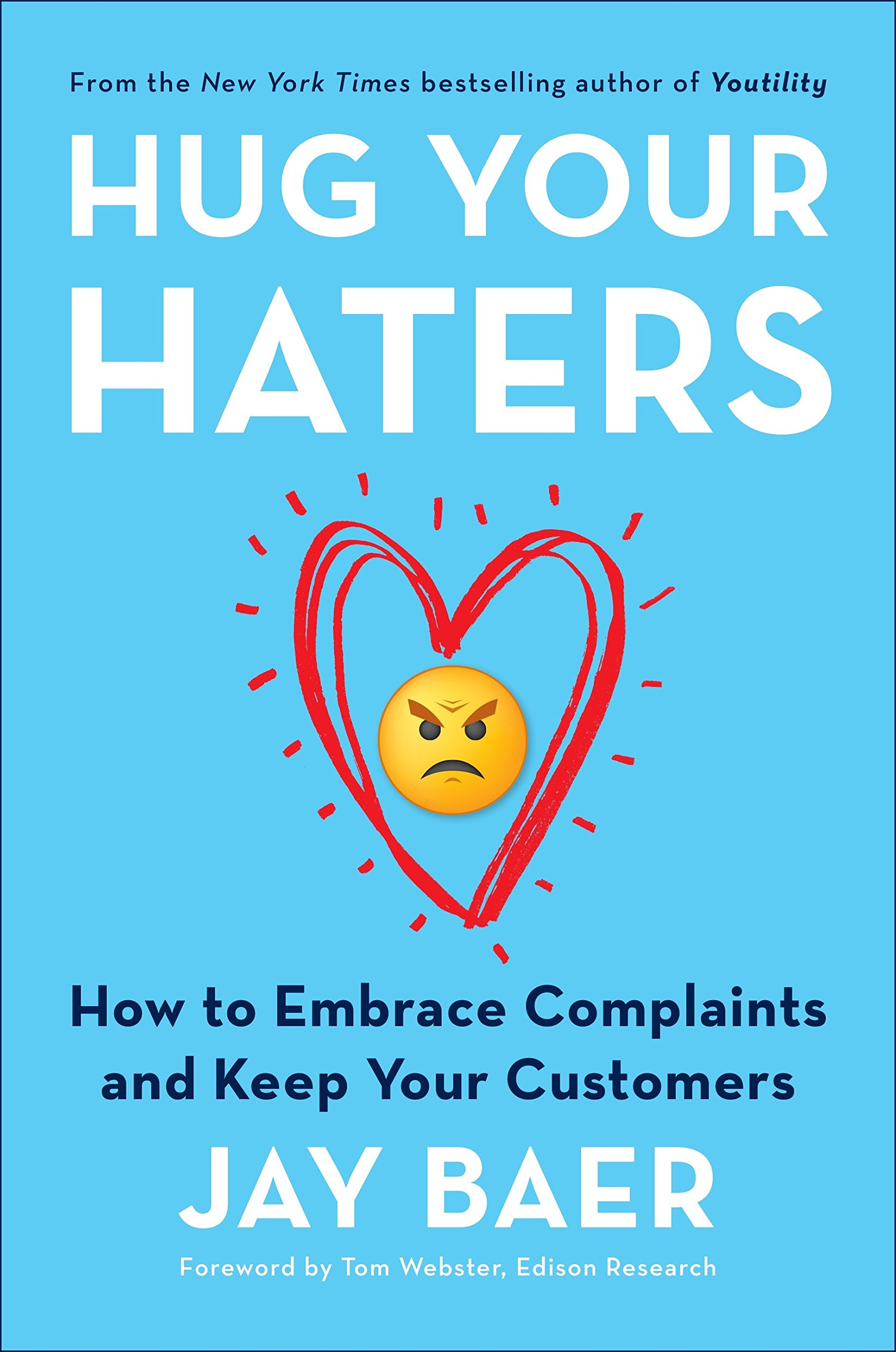 Portada Hug Your Haters de Jay Baer