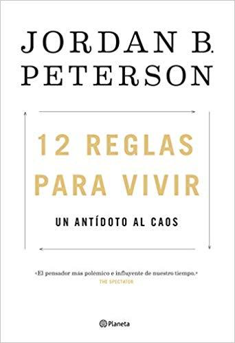 Portada 12 Reglas para Vivir Jordan Peterson