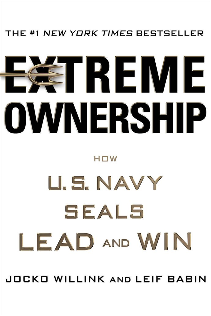 Portada Extreme Ownership Jocko Willink