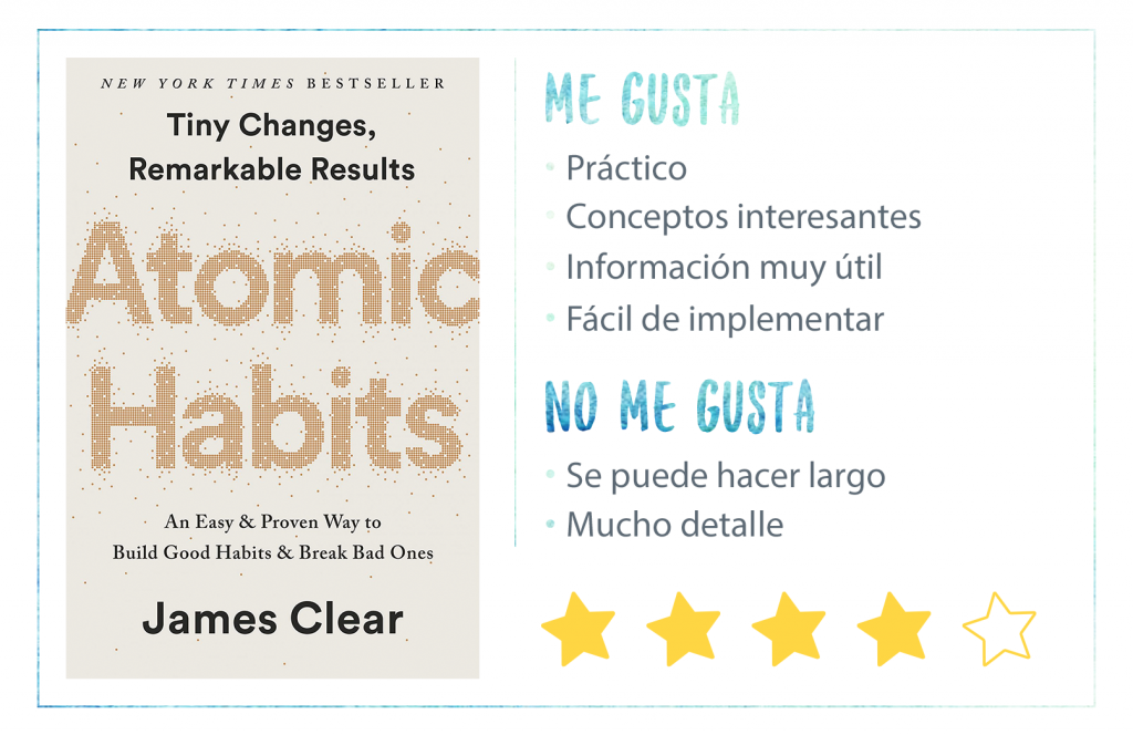 Nota Atomic Habits de James Clear