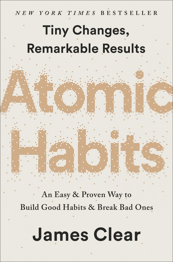 Portada Atomic Habits James Clear