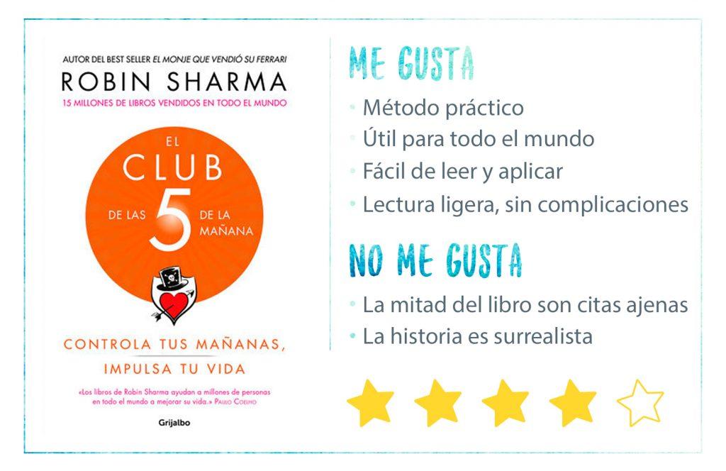 Rating-El-Club-de-las-5AM-Robin-Sharma