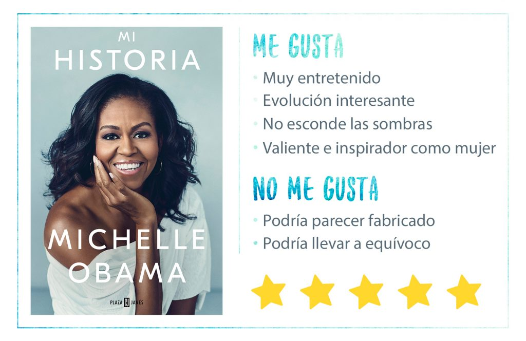 Rating-Michelle-Obama-Mi-Historia