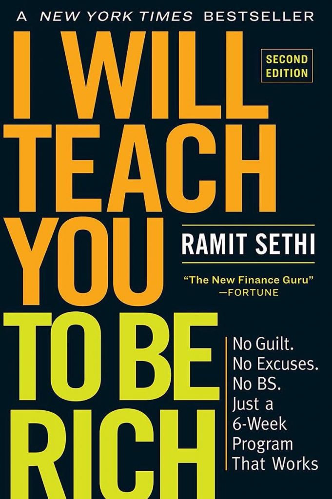 I Will Teach You To Be Rich Cover Ramit Sethi
