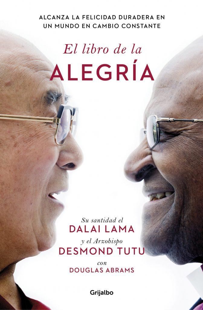 Portada El Libro de la Alegría del Dalai Lama y Desmond Tutu