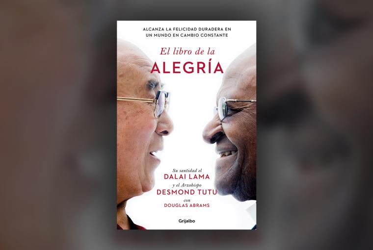 Header El Libro de la Alegría Dalai Lama y Desmond Tutu
