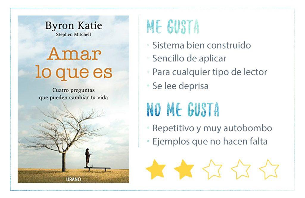 Rating Amar Lo Que Es Byron Katie