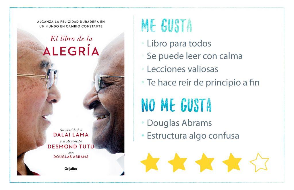 Rating El Libro de la Alegría del Dalai Lama y Desmond Tutu